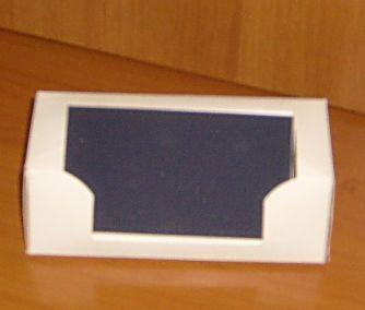 Подставка для визитки своими руками